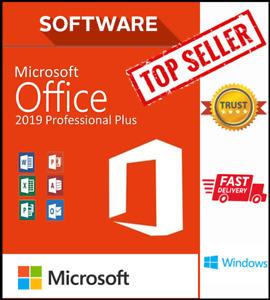 MS Office 2019 Pro ✔️PLUS ✔️WINDOWS ✔️Professional ✔️NO Key