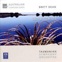 [Music CD] Brett Dean - Tasmanian Symphony Orchestra - Testament