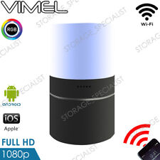 Wireless Security Camera Home Room Smart Cam LED Lamp WIFI IP