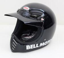 Motorradhelm Helmet Helm Bell Moto 3 Classic Black Gr.L NEU