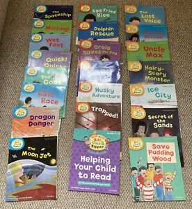 Oxford Reading Tree Books Bundle 21 Stage 4-6. Phonics & First Stories.