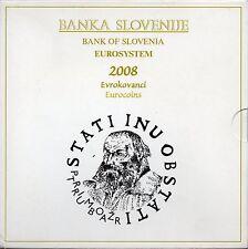 SERIE EURO BRILLANT UNIVERSEL (BU) - SLOVENIE 2008