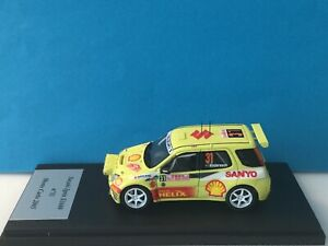 """Provence Moulage 1:43 Suzuki Ignis S1600 n°31 Monte Carlo 2005 """"Hand made"""""""