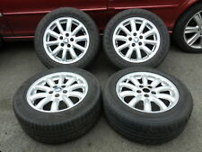 "Jaguar S Type 16"" Spirit 10 Spoke Alloy Wheels & Tyres x 4 16x7.5 XR843323"