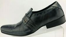 Robert Wayne Collection Loafers Slice Blue Slip On Leather Dress Shoes Mens US 7