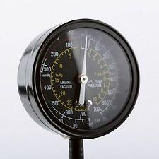 Fuel Pump And Vacuum Tester Automotive Pressure Test Diagnostic Tool Gauge