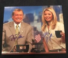 KELLY RIPA+ REGIS PHILBIN SIGNED 8X10 PHOTO  KELLY RYAN ABC W/COA+PROOF RARE WOW
