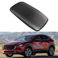 Car Carbon Fiber Center Console Leather Armrest Cover for Mazda CX-30 CX30  I8I9