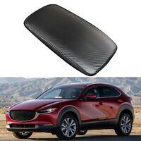 Car Carbon Fiber Center Console Leather Armrest Cover for Mazda CX-30 CX30  I8I9