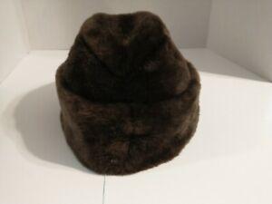 North King Full Skin Nutria Fur Hat