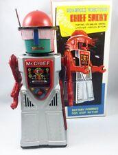 Robot - Robot Marcheur à Pile en Tôle - Advanced Robotman Chief Smoky (Ha Ha Toy