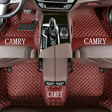 For Toyota Camry 2006 2021 Car Floor Mats Front Amp Rear Liner Waterproof Mat Fits 2012 Toyota Camry
