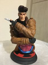 """NEW Gambit x-Men Bust RARE Limited edition! #348/1000! Dynamic Forces resin 9"""""""