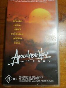 Apocalypse Now Redux VHS Free Shipping