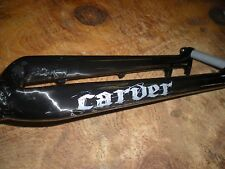Carver Bikes Full Carbon MTB Fork 490mm AC, Tapered Steerer, 15mm BOOST TA