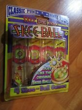 2008 Classic Fun Skee-Ball 4 Minis Party Favor They Really Work NOS