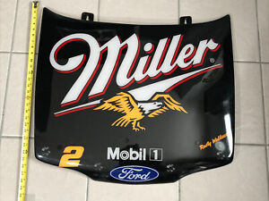 NASCAR #2 Rusty Wallace Ford Thunderbird Hood Miller
