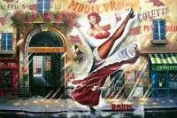 "HQ Oil Painting ""Colette"" 24""X36"""