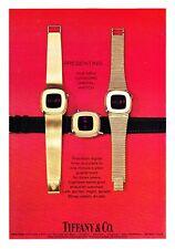 1975 Concord Digital 3 Watch photo Tiffany & Co. vintage print ad