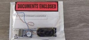 ESU Loksound V3.5 21 Pin DCC Sound Decoder for class 20 SWD/ Bachmann & Speaker