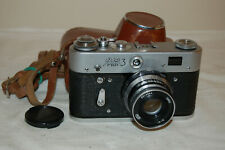 FED 3 (type 2) Vintage 1968 Soviet Rangefinder Camera And Case. 904807. UK Sale