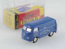 Schuco Piccolo VW T1 Bus Blechspielzeugladen Handwerkerhof N OVP SG 1606-18-25