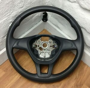 Genuine VW Dark Grey PU steering wheel for T6 Transporter 2H0.   SUPERB!    C16