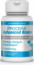 Procera Advanced Brain - Fast Acting Memory, Energy & Mood Support - 60 Capsules