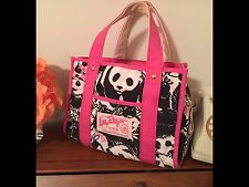 🐼*VHTF Lilly Pulitzer Originals Pandamonium Tote Bag @wwf World Wildlife Fund🐼