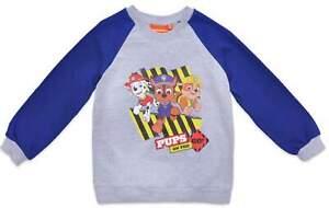 Paw Patrol Boys Sweatshirt Sweater Grey