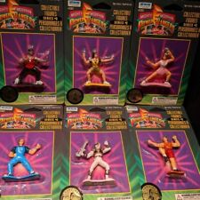 Vintage 1995 Irwin Bandai Mighty Morphin Power Rangers Complete Power Ranger Set