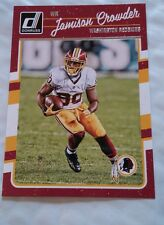 2016 Donruss #296 Jamison Crowder Washington Redskins Football Card