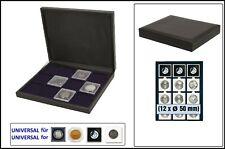 Safe 63500 nova de Luxe Tirelire Noir 12x 50mm Pour square Coin