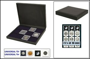 Safe 63500 nova Deluxe Coin Box Black 12 compartments 1 31/32in For coin holder