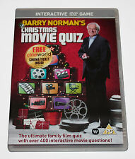 Barry Norman's Christmas Movie Quiz DVD Game Ideal Stocking Filler - NEW