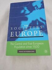 The Central and East European Population since 1850 (Societies of Europe), Book