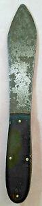 """Vintage Throwing Knife W/ 4.5"""" Carbon Steel Blade and Bakelite Scales"""