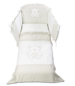 Italbaby Love Pony Set Cover Bedding Blanket With Closing White Colour
