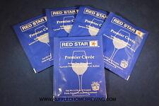 Premier Cuvee Yeast, Red Star Yeast, WIne Yeast, 5 Pack, Wine Making