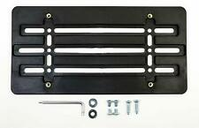 License Plate Tag Holder Mount Relocator Adapter Bumper Kit Bracket for TOYOTA