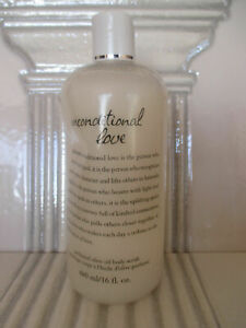 PHILOSOPHY UNCONDITIONAL LOVE PERFUMED OLIVE OIL BODY SCRUB 16 OZ SEE DETAILS