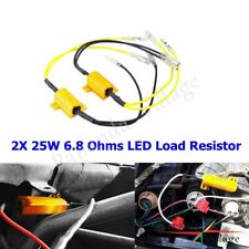 Yellow Pack of 2 5mm LED Signal Indicator w// Cable 6-12VDC Built-in Resistor