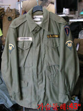 vintage m1951 us army cold weather parka with wool liner