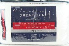 Wamsutta Dream Zone Synthetic Down side Sleeper Pillow 750-Thread Standard Queen