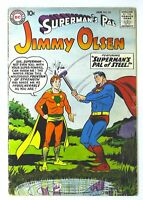 Superman's Pal Jimmy Olsen (1954 series) #34 in VG + condition. DC comics [*cm]