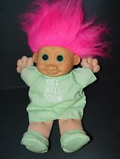 "Troll Doll 11"" Russ Plush Soft Body Get Well Soon"