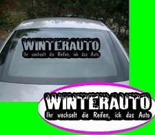 Winter Auto nr3 Reifen wechseln  xl Aufkleber Sticker Winter Rost Ratte Domo