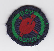 1960's UNITED KINGDOM BRITISH BOY SCOUTS - SEA SCOUT DESIGNER Proficiency Badge