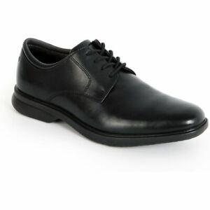 Rockport Allander Men's Dress Black Leather Shoes K70975
