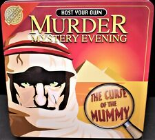 Murder Mystery Evening The Curse Of The Mummy Cheatwell Games.
